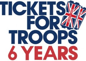 Tickets For Troops Celebrating 6th Anniversary