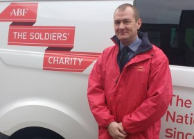 Skills translation company brings success to head of The Soldier's Charity in Wales