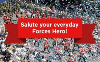 Salute your everyday Forces Hero!