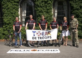 Soldiers to cycle 1,500 miles in first-ever charity 'Tour de Troops'