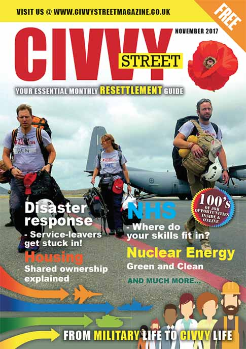 Civvy Street Nov 2017 Issue