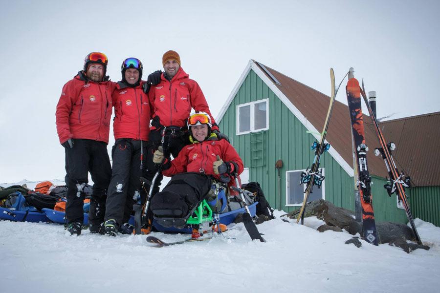 Civvy Life – Sean Rose, Seated Skier
