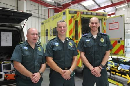 South Central Ambulance Service NHS Foundation Trust (SCAS) Invites Military Inspection