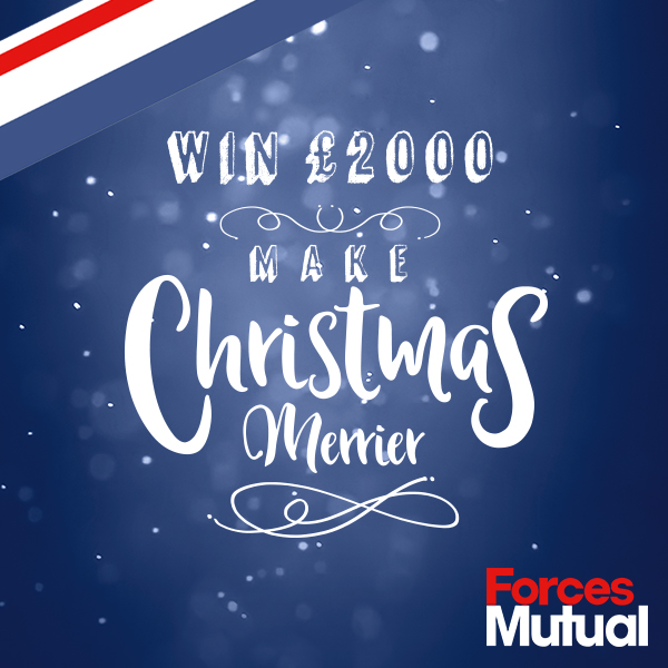 Win £2,000 – Celebrate Christmas with Forces Mutual