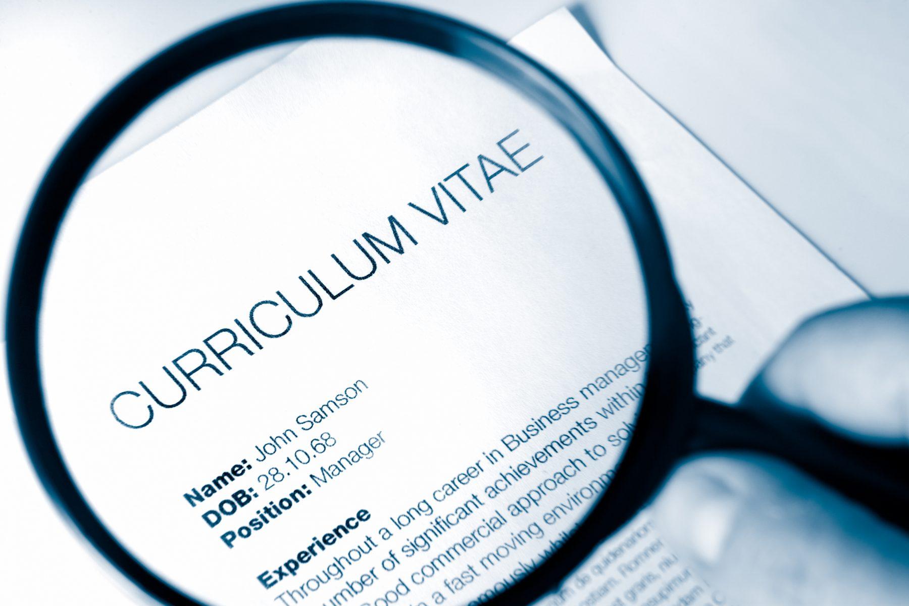 Creating a Great CV