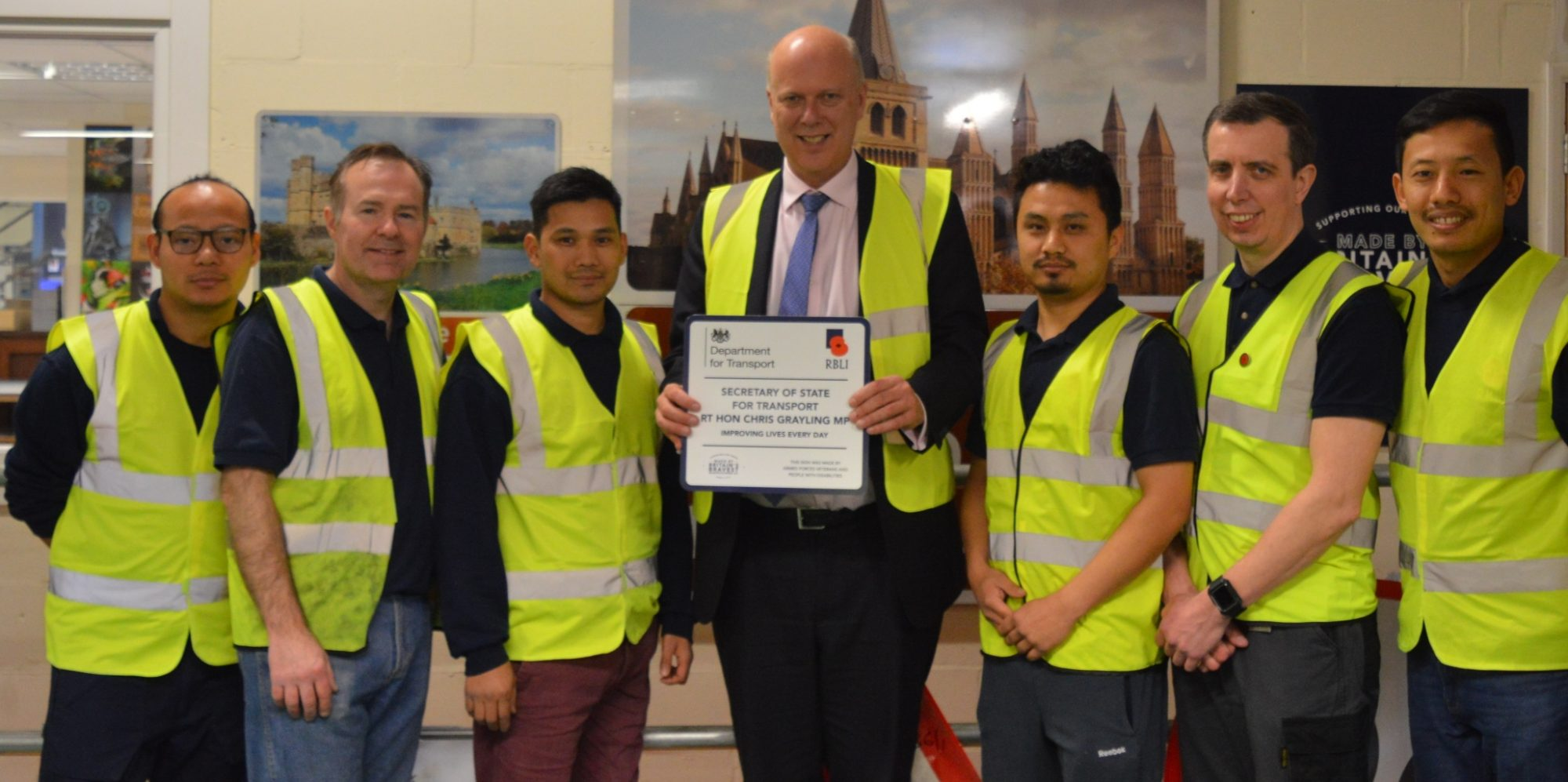 Transport Secretary visits Britain's Bravest Manufacturing Company to help more Disabled Veterans into work