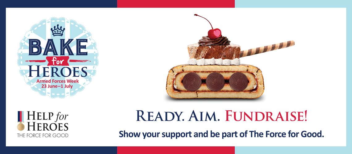 Ready, Aim, Fundraise With Help For Heroes!