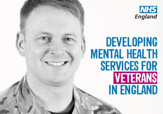 Are you struggling to cope? The NHS has dedicated veterans' mental health services that are here to help.