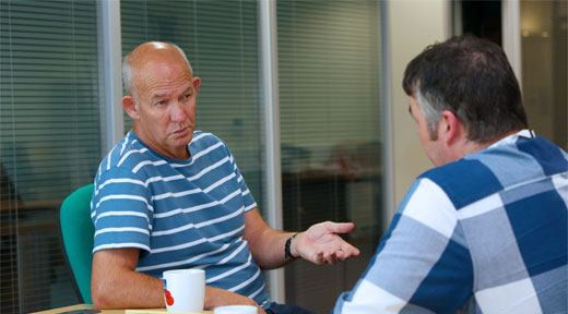 CivvyStreet Interviews National Coordinator Peter Hoare at Combat Stress on new Peer Support Service