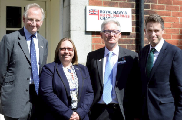 Secretary of State for Defence special guest at the Royal Navy and Royal Marines Charity
