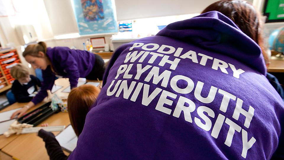University of Plymouth: Apply now for entry onto BSc (Hons) Podiatry