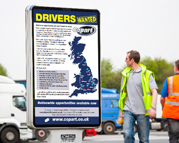 Immediate vacancies available for qualified drivers with Copart