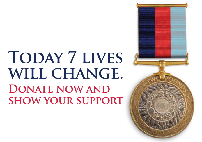 Help for Heroes: Donate now and show your support