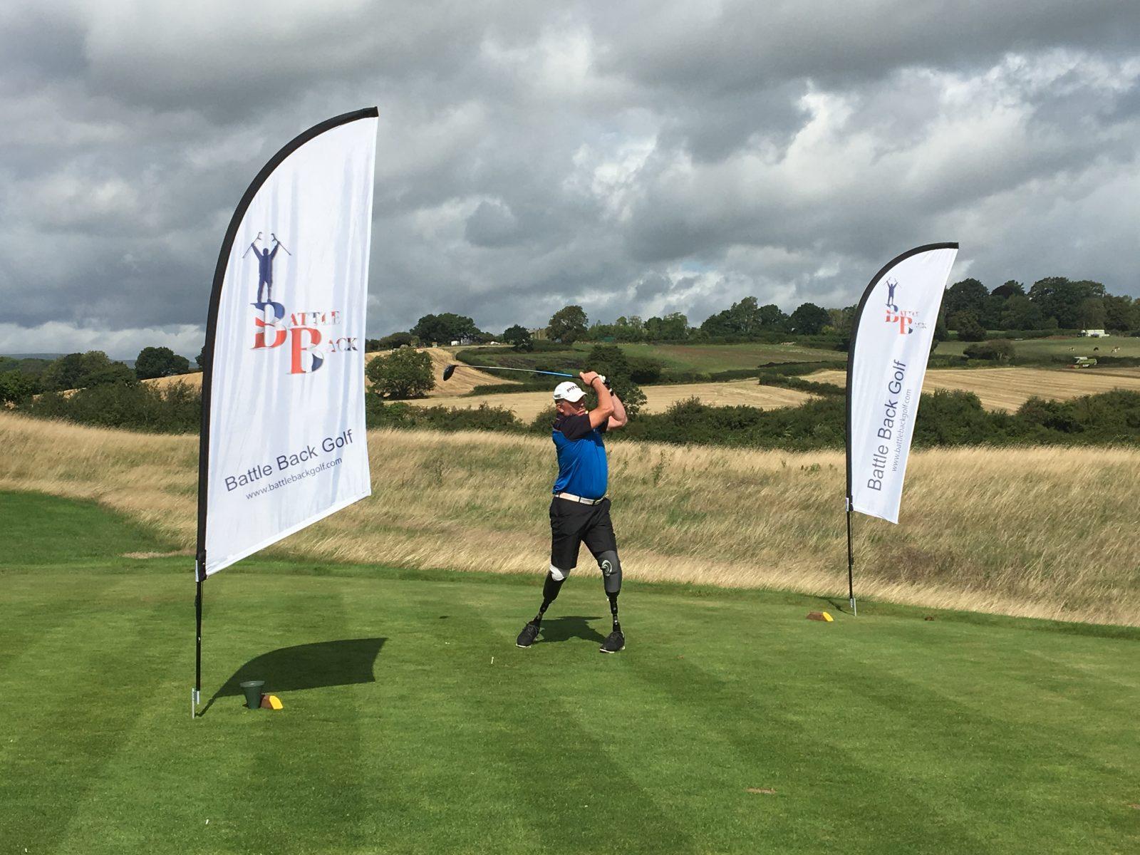 UK Battle Back Golf team prevail against  Australian opponents at Celtic Manor