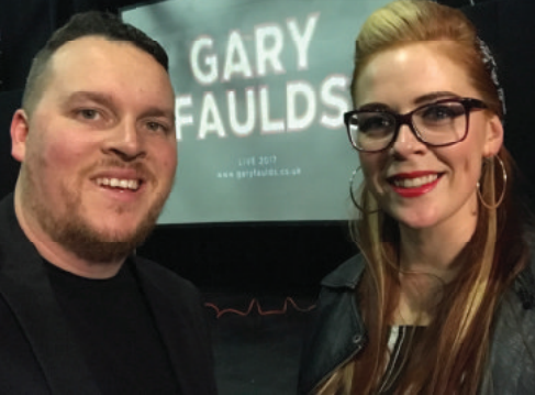 Civvy Life – Gary Faulds left the Army in 2011 and is making a name for himself as a stand-up comedian