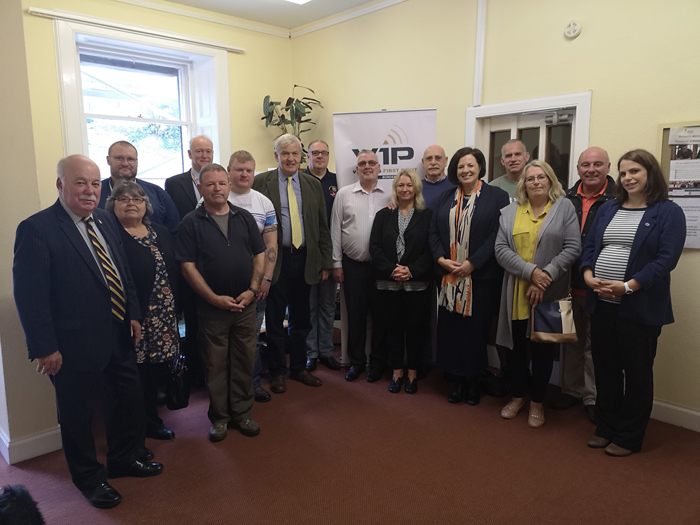 Veterans Welcome MSP to the Borders