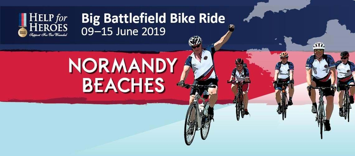 Big Battlefield Bike Ride with Help for Heroes