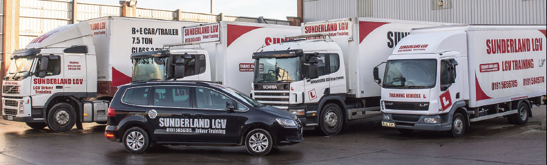 Sunderland LGV Driving Training Courses Available