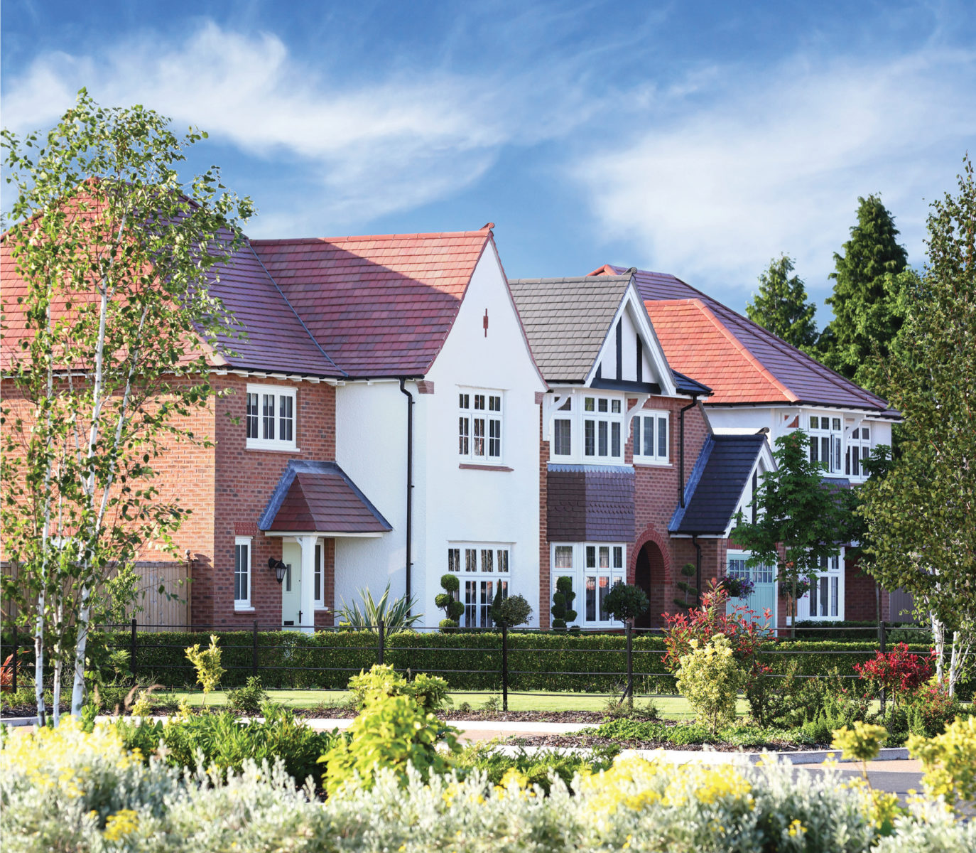 Better is available as standard. It can only be Redrow.