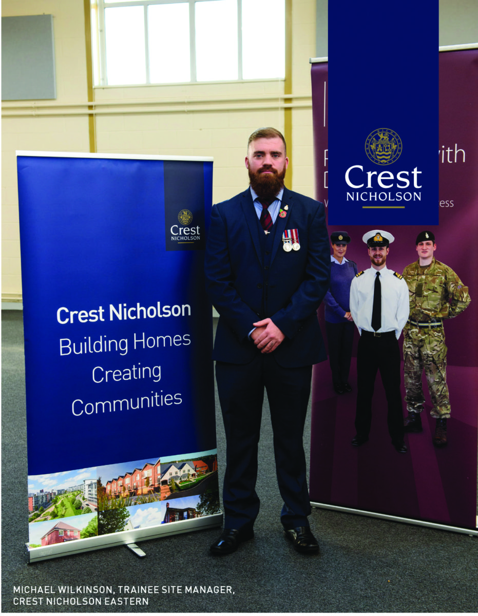 Ex-Corporal Excels In Site Management Academy