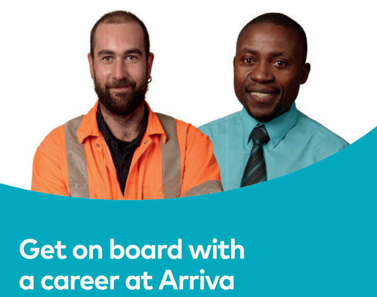Arriva – Get on board with a career at Arriva