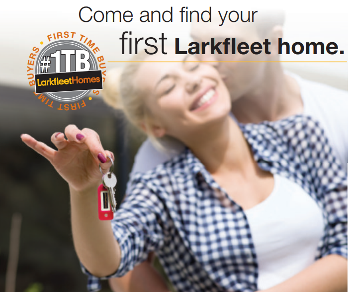 The Developer of Choice for First Time Buyers – Save £1,000's with Larkfleet Homes