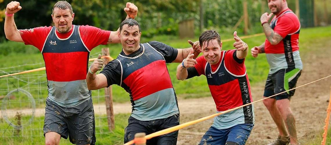 Make Muddy Memories With Help For Heroes