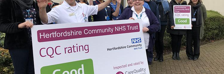 Come and join us at Hertfordshire Community NHS Trust!