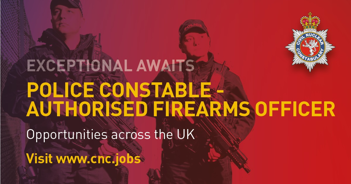 You're Already Highly Skilled… Become exceptional With Civil Nuclear Constabulary