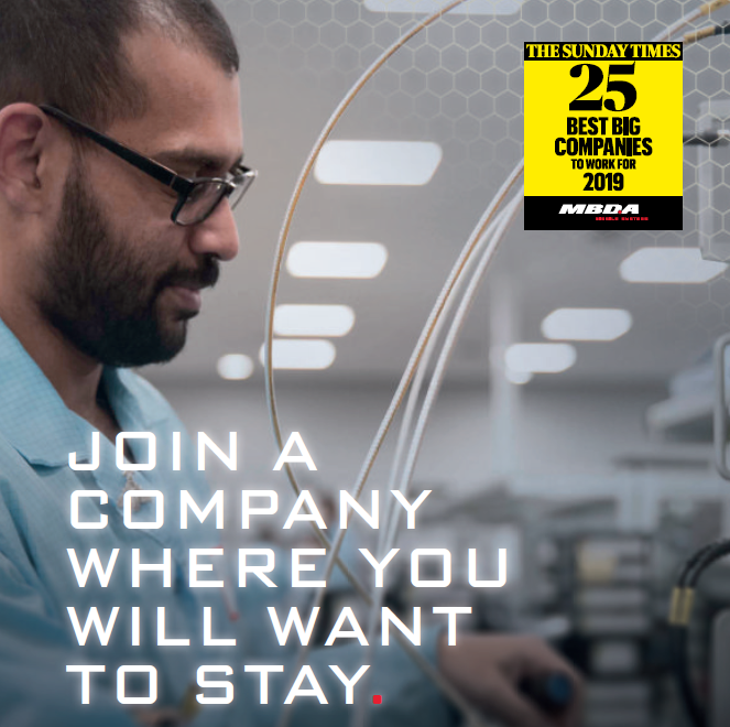 Join A Company Where You Will Want To Stay – MBDA