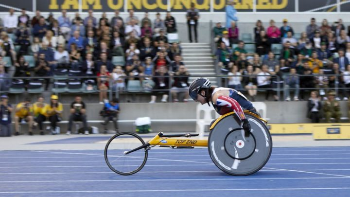 Armed Forces Covenant Fund Trust Official Grant Partner Of Invictus UK Trials Sheffield 2019