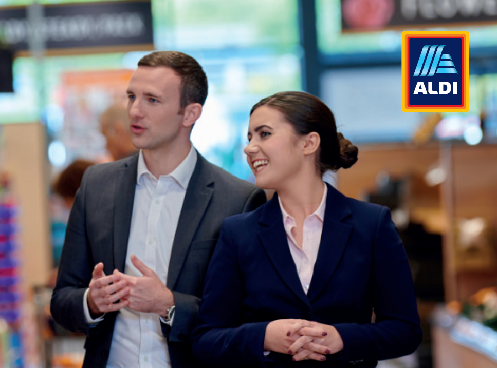 ALDI are looking for a new Area Manager Programme Career Changer