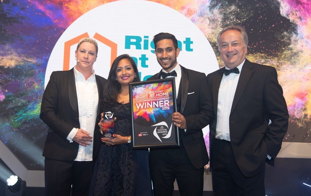 Right at Home Solent and Southampton Scoops Two National Business Awards