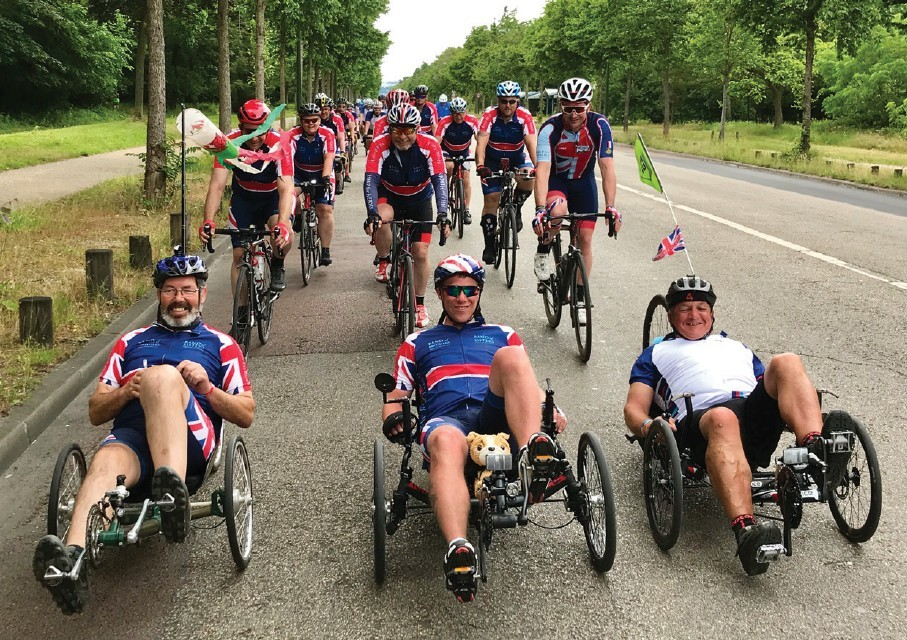 Support wounded Veterans on an historic ride through time