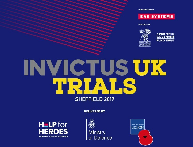 350 wounded military to take part in Invictus UK Trials