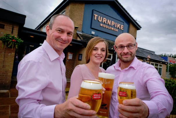 The Turnpike pub reopens to the community following investment