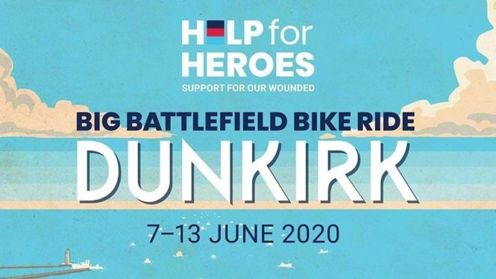 Sign Up For Big Battlefield Bike Ride Dunkirk 2020 Today!