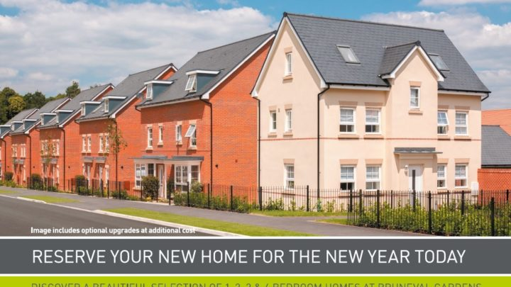 Reserve your new home for the new year today with Barratt Homes