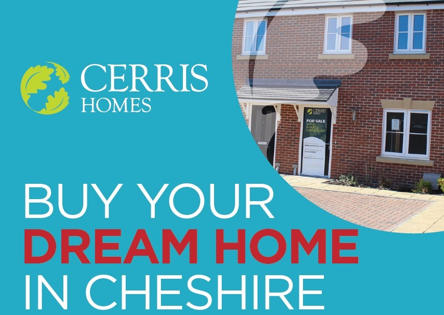 Buy your dream home in Cheshire with Cerris Homes