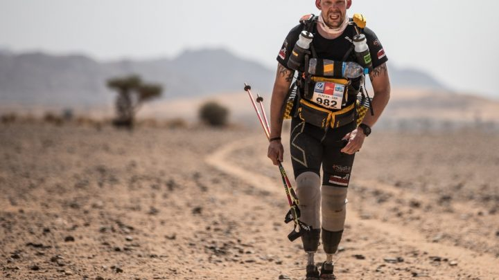 Double Amputee and Polar Explorer Who Was First to Complete Legendary Marathon Offers Pandemic Support