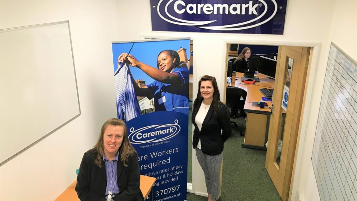 Caremark (Cheltenham & Tewkesbury) moves to an office twice the size to meet demand.