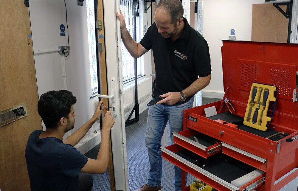 Train to become one of the first qualified Locksmiths in the country with Keytek® Locksmith Academy!