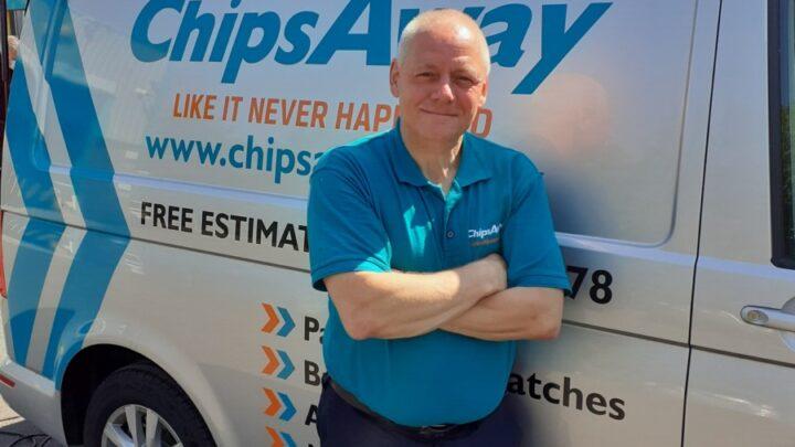 Civvy Life – ChipsAway Franchisee, Pat Badder