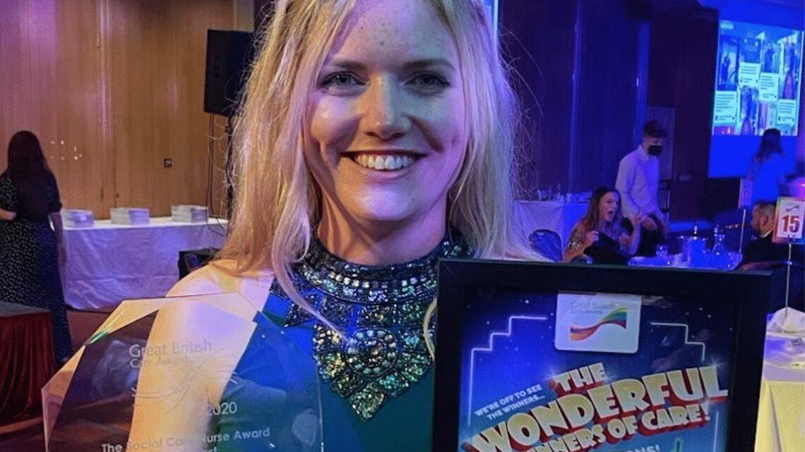 And the winner is… Fiona Leggott, Blossom Home Care!